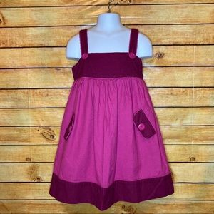 5/$25 Children's Place Two Tone Pink Jumper Dress